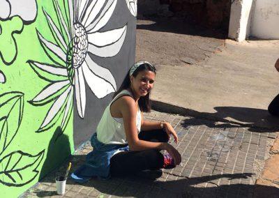FAD mural painting - Beirut Campus - November 2nd 2018